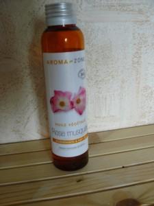 huile vegetale rose musquée
