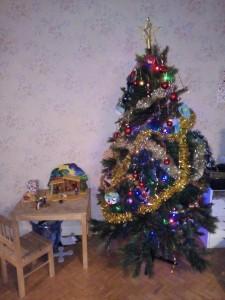 Sapin de Noël - décoration